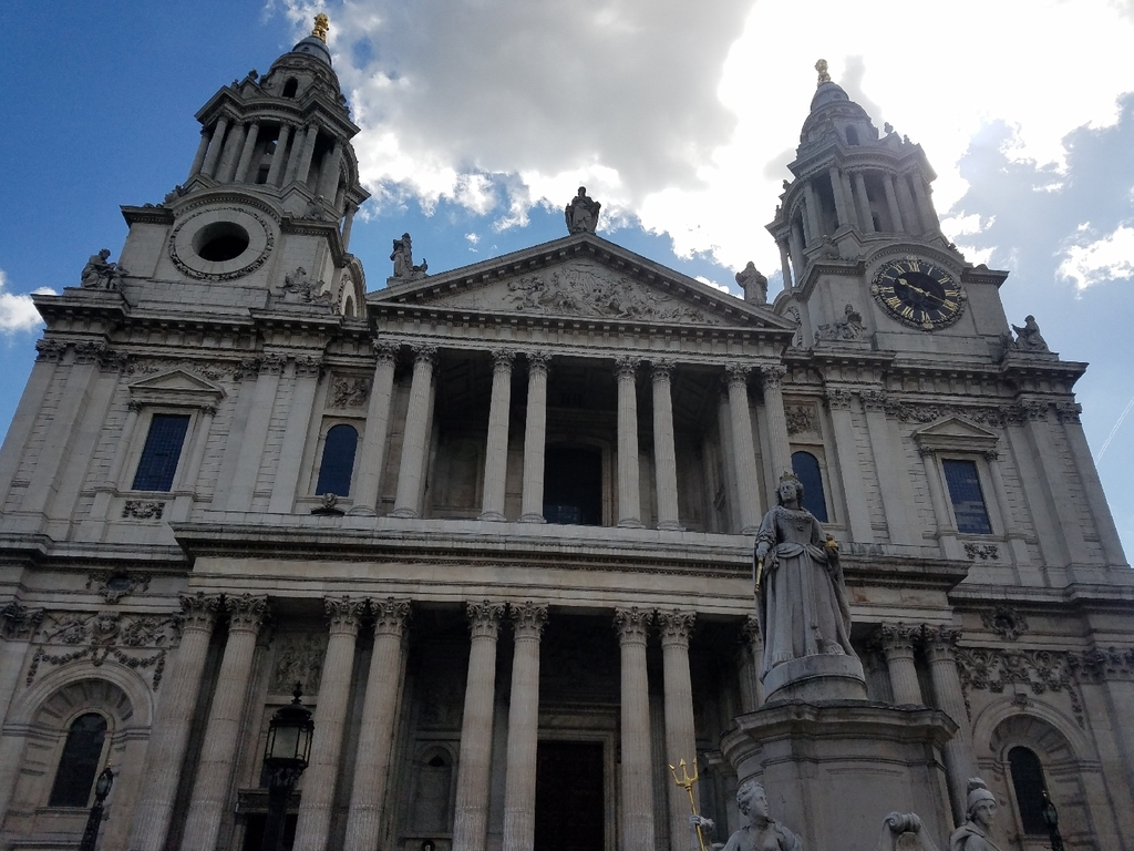 Saint Paul's Cathedral of the City of London.